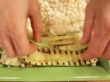 Лазаня от тиквички с три вида сирена 7