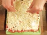 Лазаня от тиквички с три вида сирена 8
