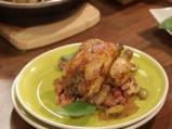 Малки пилета с бекон и босилек 4