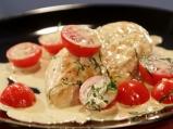 Пилешки гърди със сос от маскарпоне