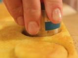 Хапки с шоколад и синьо сирене 10