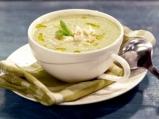 Студена супа от тиквички с крем сирене