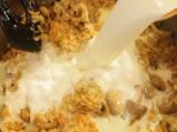 Пилешки бутчета с ориз и топено сирене 5