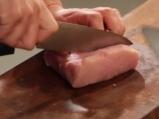 Свинско със сметанов сос