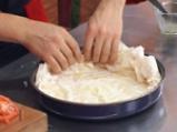 Спаначена пица с точени кори 3