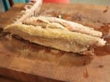 Салата с пушена скумрия и млечна царевица 3