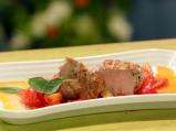 Свинско с чушки и домати на фурна