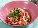 Лятна салата с жито и царевица