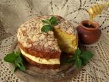 Немска медена торта с бадеми