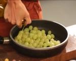 Брускети с грозде и козе сирене