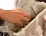 Обърнат кейк с грозде 3