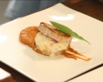 Свинско контрафиле с гъст сос от печени червени чушки 7