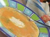 Супа с тиква и крем сирене