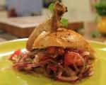 Печено пиле с микс от провансалски подправки 6