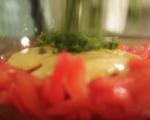 Салата с розови домати и майонезен дресинг 5