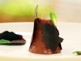 Шоколадово семифредо с мента