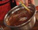 Шоколадово семифредо с мента 3