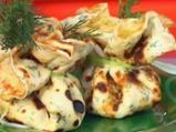 Палачинки със скариди и тиквички