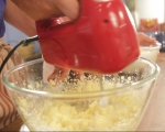 Карамелена торта с ябълки 2