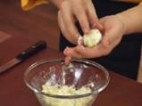 Супа от пащърнак с картофени топчета и къри 5