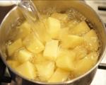 Картофено пюре със зеле