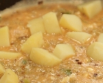 Фритата с картофи и праз 4