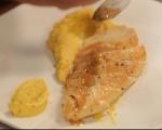 Пилешко с пюре от целина и моркови 4