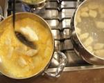 Картофени ньоки с тиквен сос и салвия 5