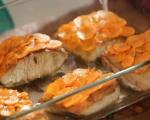 Костур с моркови и зелен сос 4