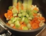 Пилешка супа с магданозени кнедли 2