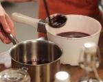 Поширани круши в червено вино 5