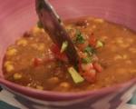 Пикантна супа с боб и царевица 6
