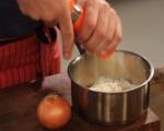 Телешки език с пюре от картофи и хрян  2