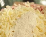 Мъфини със сирена и шунка