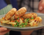 Рибени кюфтета с медено-горчичен винегрет 9