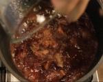 Телешка яхния с портвайн  4