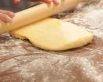 Тиквени крекери с дип от чушки  3