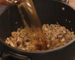 Пилешки пържоли с гарнитура от ориз 6