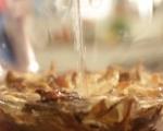 Пилешки пържоли с гарнитура от ориз 4
