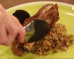 Печени свински гърди с леща 6
