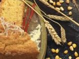 Царевична пита с чушки и лук