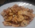 Пипала на октопод с варени картофи и чеснов сос