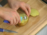 Пълнени картофи с крем от праз 4