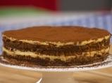 """Бисквитена торта """"Ден и нощ"""""""
