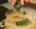 Картофена крем супа със сирене 4
