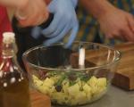 Свински хапки с гарнитура от картофи 7
