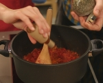 Доматена супа с печени чушки 3