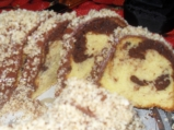 Кекс  с  шоколад и орехи