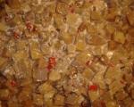 Вегетарианска мусака с орехи  8