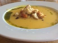 Картофена крем супа с целина